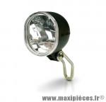 Feu avant acier chrome Marwi Union UN-4290 pour dynamo éclairage avant vélo