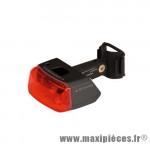 Déstockage ! Feu arrière Sigma Cuberider II Black - Éclairage de Vélo