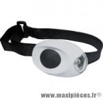 Prix discount ! Eclairage de vélo avant LED blanche mini light XC-910F 4 fonctions