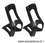 Prix spécial ! Cale pieds Zéfal pour VTT  taille L/XL de couleur noir (la paire)