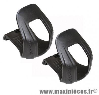 Cale pieds court Zéfal pour VTT taille L/XL de couleur noir (la paire)