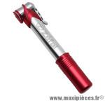 Mini pompe pour vélo route Zéfal Air Profil Micro alu couleur rouge *Prix spécial !