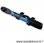 Prix spécial ! Mini pompe universelle Zéfal mini jet plastique bleu 6 bars VP/VS
