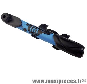 Mini pompe universelle Zéfal mini jet plastique bleu 6 bars VP/VS