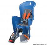 Déstockage ! Siège enfant arrière inclinable Bilby Polisport bleu & gris à fixer sur cadre