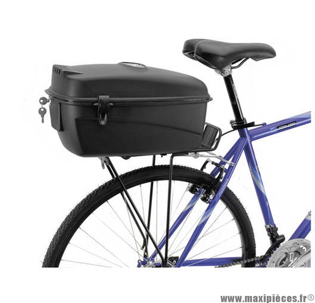 Top case vélo M-Wave Amsterdam Box L 17L. noir