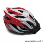 Déstockage ! Casque vélo route/VTT GES Flow rouge L/58-62cm