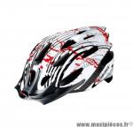 Déstockage ! Casque vélo route/VTT L/58-62cm GES Genius rouge/blanc/noir