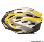 Déstockage ! Casque vélo route/VTT junior GES PROTON taille 52-56cm jaune