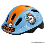 Déstockage ! Casque vélo enfant taille XXS 44-48cm Polisport Spike bleu