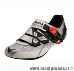 Déstockage ! Chaussure route Vittoria Pro-Power Carbone Blanc/Argent taille 40 (paire)