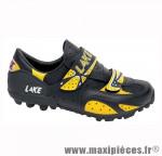 Déstockage ! Chaussure VTT Lake MX81 noir/jaune Taille 40 (paire)