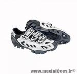Déstockage ! Chaussure VTT GES Artik blanc/noir Taille 38 (paire)