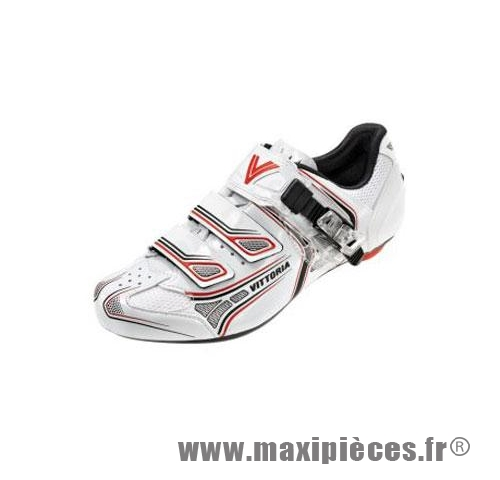 Déstockage ! Chaussure route Vittoria Brave Blanc taille 41 (paire)