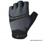 Déstockage ! Gants vélo VTT taille L CHIBA BioXCell Pro gris/noir