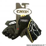 Déstockage ! Gants vélo VTT enfant XS CHIBA Spider Pro noir