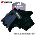 Destockage ! Mitaine/Gants été vélo gris/noir pour cycliste VTT BMX (taille M) marque GES