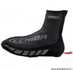 Déstockage ! Couvre-chaussures vélo en néoprène taille L Chiba 31433 noir