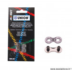 Déstockage ! Attache rapide Marwi Union UN-20 chaine 9 vit. Snap On (x2)