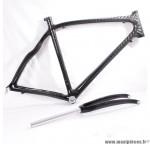 Déstockage ! Cadre et fourche de vélo carbone taille M/52 Orka Team 700 course/route/cyclosportif