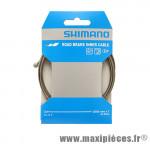 Câble de frein route Shimano SUS 2m05 diam. 1,6mm (à l'unité) *Prix spécial !