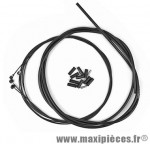 Déstockage ! Kit de gaine frein Kble black snake téflon Transfil compatible VTT/route