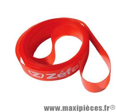 Fond de jante VTT Zéfal 22mm x 26 pouces - Rouge - haute pression max 8 bar *Prix spécial !
