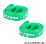 Fond de jante (x2) souple VTT 20mm x 27,5 pouces - Vert - marque Zéfal *Déstockage !