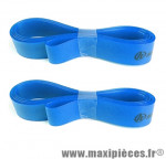 Déstockage ! Fond de jante (x2) Herrmans 20mm x 559/26 pouces - Bleu - max 6 bar
