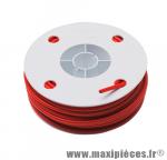 Déstockage ! Gaine de frein standard rouge Transfil 26/10 (Bobine de 25 Mètres)