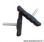 Porte-patins de frein Promax D255A 72x12mm noir (x2) *Déstockage !