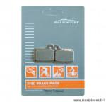 Déstockage ! Plaquettes de frein organique Alligator Performance - Disc 07 compatible SHIMANO Deore, NEXAVE Hydraulic pour VTT