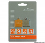 Plaquettes de frein organique Alligator Performance - Disc 19 compatible HOPE Mini 2 Piston pour VTT *Prix discount !