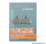 Déstockage ! Plaquettes de frein organique Alligator Performance - Disc 25 compatible HOPE Mono Mini pour VTT
