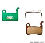 Déstockage ! Plaquettes de frein organique SwissStop Disc 16 compatible SHIMANO XTR 965 / 966 / XT 765 / LX 585 / Deore 535 / Saint / Home pour VTT