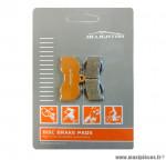 Déstockage ! Plaquettes de frein organique Alligator Performance - Disc 15 compatible HOPE XC 4 Piston pour VTT