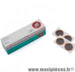 Prix spécial ! Boîte de 100 rustines F1 rondes rouges de diam. Tip-Top