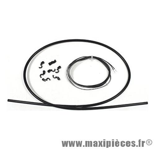 Déstockage ! Fil électrique pour garde boue vélo avec cable et gaine marque Zéfal - Accessoire Vélo
