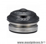 Jeu de direction vélo intégré Neco H50 IS41/28,6 noir VTT/BMX *Déstockage !