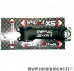 """Potence 100mm SX-Force cintre 25,4 mm pivot 1'' à 11/8 angle 5° réversible"""" *Prix discount !"""