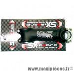 """Potence 90mm SX-Force diam. pivot 1'' à 11/8 et cintre 25,4 mm angle 5° réversible noire"""" *Prix discount !"""