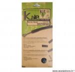 Déstockage ! Kit gaine de frein Kble Transfil route compatible Shimano (gaine noire/câble)