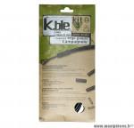 Déstockage ! Kit gaine de frein Kble Transfil route compatible Campagnolo (gaine noir/câble inox)