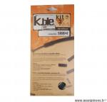 Déstockage ! Kit gaine dérailleur Kble Transfil compatible Sram (gaine noir/câble inox)