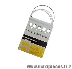 Kit de gaine frein Noxsnake Transfil carbone blanc compatible VTT/course *Prix spécial !