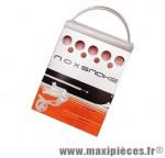 Prix spécial ! Kit de gaine dérailleur Noxsnake Transfil carbone blanc compatible VTT/route