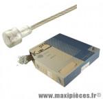 Déstockage ! Câble frein inox Kble Transfil Campagnolo 1.6x1600mm (vendu à l'unité sans emballage)