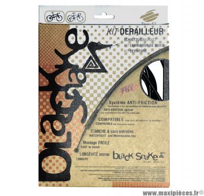 Kit de gaine dérailleur Kble black snake Transfil compatible VTT/route *Prix spécial !