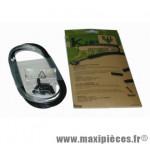Déstockage ! Kit gaine de frein Kble Transfil VTT/MTB compatible Shimano (gaine noire/câble)