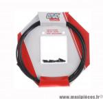 Déstockage ! Kit de câbles de frein Clarks en téflon + gaines noir pour vélo route/VTT